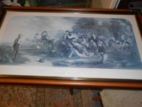 Football Thomas Websterra Print 48 x 97 cm