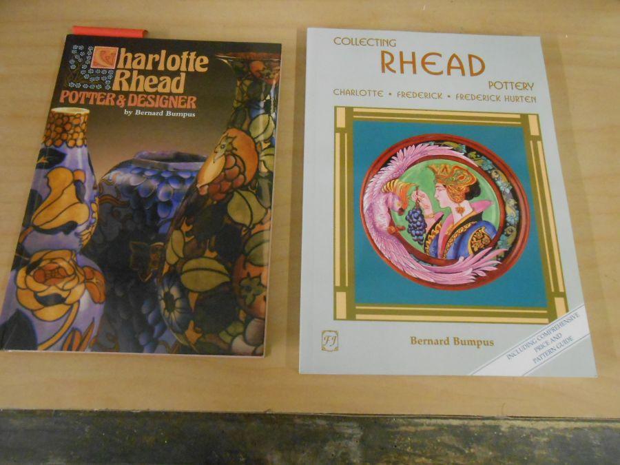 Charlotte Rhead Potter and Designer Bernard Bumpus and Collecting Rhead pottery Bernard Bumpus