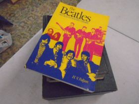 Beatles- an illustrated diary, Dictionary of biography volume and cookery compendium