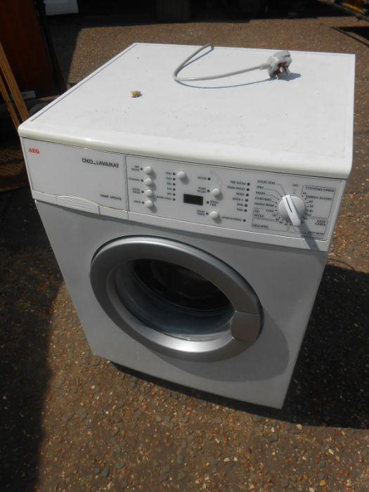 AEG Washing Machine ( house clearance )