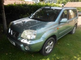 2003 Nissan X-Trial Automatic with V5 and one set of Keys from deceased estate ( viewing by