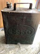 Vintage Esso Spirit Can with brass BP Cap