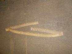 2 Brass Bullet Belts