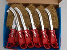 24 Hilka wire brushes