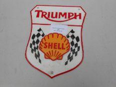 Triumph shell sign