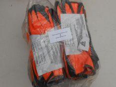 2 packs of work gloves