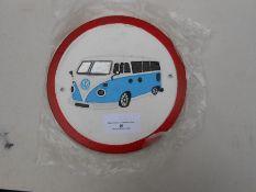 VW split screen plaque
