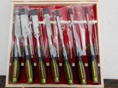 deluxe wood chisel set