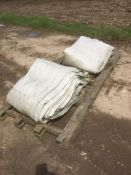 2x Sugar Beet protection covers