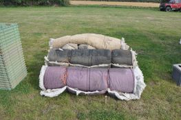 Quantity of potato quilts