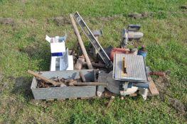 Assorted workshop tools