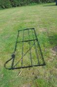 Victorian style metal gate