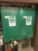 2x Oil storage tanks