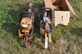 Partner K650 mk.II quick cut saw (with spares and repairs)