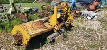 Twose 2.5m flail mower bent frame - for parts
