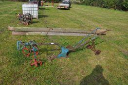 Vintage Suffolk plough