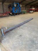 1 x Sweepauger with motor. Working order. 5.16 metres long