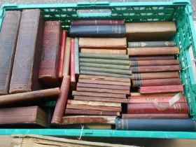 Box of Assorted Books to include Cassells Illustrated History of England vol 1 and 2 , Nuttall