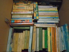 Box of books and annuals