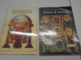 Celtic art and Gilbert and George full size posters, only 5 in the Gilbert and George