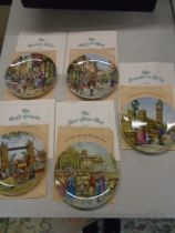 Davenport cries of London picture plates, boxed with authenticity