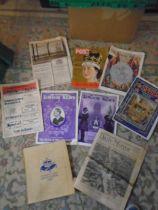 Coronation memorabilia including 1927 newspaper of the Menin gate memorial