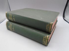 The Household physician books vol 1&2 with fold out instruction pages inside