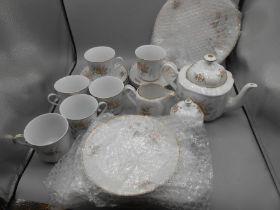 Alba Julia Tea Set ( some pieces are chipped )
