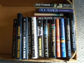 Dick Francis book collection