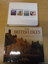 2 table books The British Isles and Emsworth season cookbook