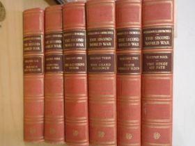 Winton Churchill 'The second world war' 6 volumes