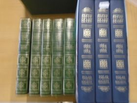Pepy's diary books 1960-1969 and 5 Charles Dickens novels