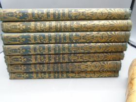 Butlers lives of Saints, 7 volumes and 1 waverly novel