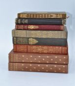 A collection of vintage books to include: The Poems of Robert Herrick Volumes 1 & 2; The Complete