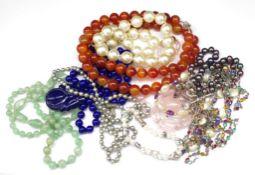 Beaded jewellery group