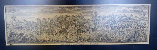 Ruinae eversae Olysipponis: Ruin der Stadt Lisabona. Kupferstich