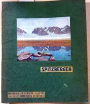 Norddeutscher Lloyd: Spitzbergen (Reiseprospekt)