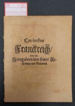 Lisola, François Paul de: Entlarfftes Franckreich oder die Irregularitäten seiner ...