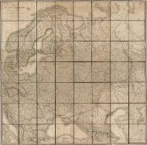 Lapie, Pierre: Carte de la Russie d'Europe