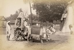 British India: Natives and villages in Madras