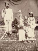 British India: Gujarat court portraits