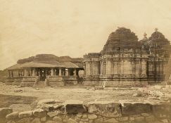 British India: Landscapes, cities and temples of various regions of Ind...