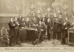 Franco-Prussian War 1870: Images of France's declaration of war on Prussia