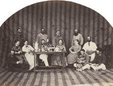 British India: British life and families in India