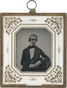 Daguerreotypes: Portrait of a man