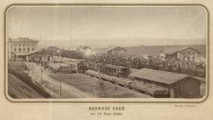 Deutscher Krieg (Austro-Prussian Wa...: Bahnhof Eger