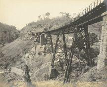 British India: Railway construction and bridges