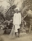 British India: Portraits of servants, street sellers and merchants