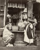 Béchard, Henri: Market and street scenes in Cairo, Thèbes and Port d' As...