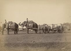 British India/Pakistan: Various military and industrial scenes as well as landsc...